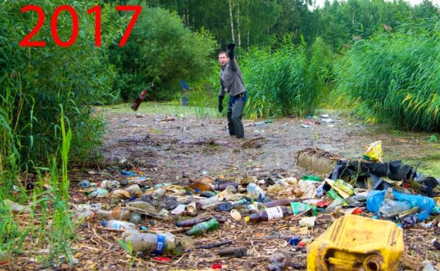 в южно-приморском благодаря уборкам стало чище