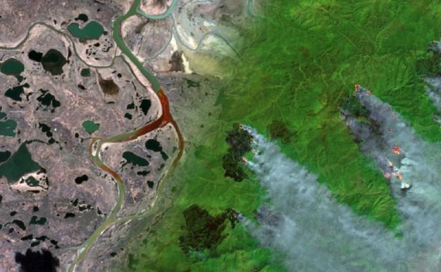 запись вебинара о спутниковом мониторинге экопроблем